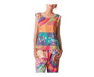 Pyjamashirt Rainbow, maat S/M