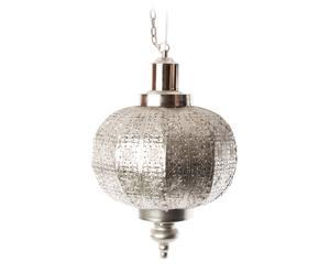 Hanglamp Zu IV, zilver, H 46 cm