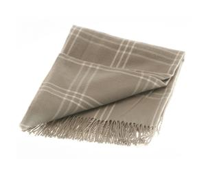 Plaid Akor, beige