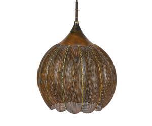 Lamp Citrouille, ijzer, diameter 46 cm