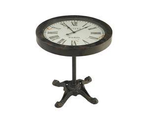 Klok op voet Horloge, metaal, hoogte 73 cm