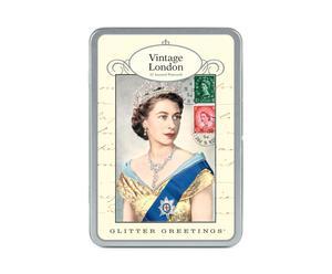 Doosje met 18 postkaarten Londen