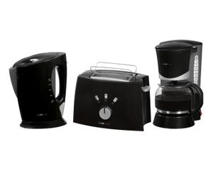 Ontbijtset - broodrooster, koffiezetapparaat, waterkoker