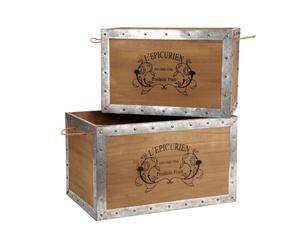 Kisten Epicurien, 2 stuks