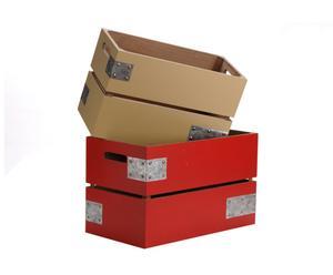 Kisten Rouge, 2 stuks