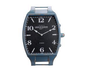 Horloge Montre Métal, Noir - L37