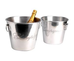Set van 2 champagneglazen Champagne