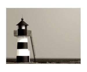 Canvasprint The lighthouse - 60 x 80 cm