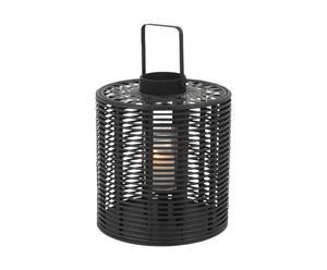 Lampion IJzer, zwart, diameter 31 cm