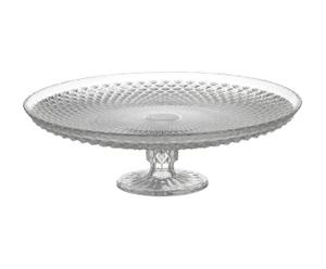Taartplateau, transparant, diameter 31 cm