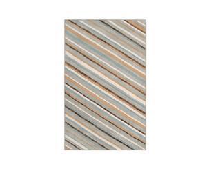 Tapijt strepen, wol, veelkleurig, 172 x 243 cm