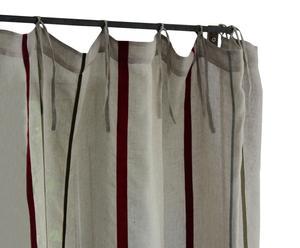 Gordijn linnen, veelkleurig - 140 x 270 cm