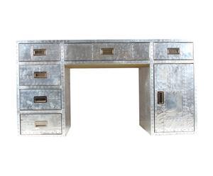 Bureau Aero, aluminium - L 152 cm
