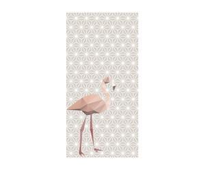 Vliesbehang Flamingo, 48 x 300 cm