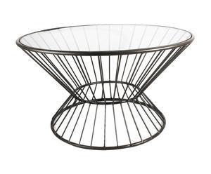 Bijzettafel STRIPES, diameter 70 cm
