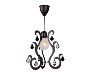 Hanglamp Classic, zwart, diameter 23 cm