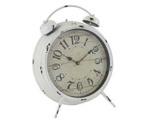 Wekker Ronde, wit, diameter 39 cm