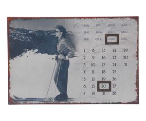 Kalender Mari, grijs, 36 x 24 cm