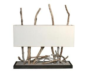 Tafellamp One life, hout, H 53 cm