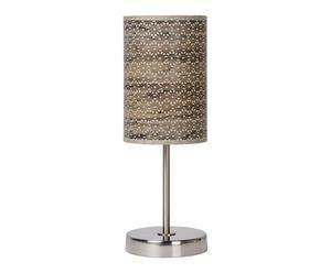 Tafellamp Lana, bruin, H 38 cm