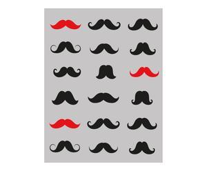 Vliesbehang Mustache, 48 x 300 cm
