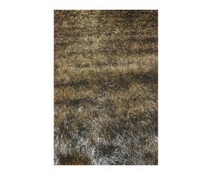 Handgewoven tapijt May, grijs, 200 x 300 cm