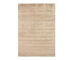 Handgewoven tapijt Tia, beige, 170 x 240 cm