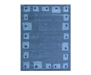 Handgetuft tapijt Lia, blauw 200 x 290 cm