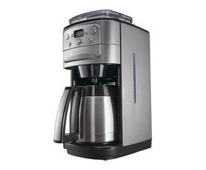 Koffiezetapparaat Dorian, zilver/zwart, L 40 cm