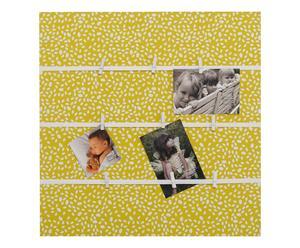 Wanddecoratie Nora, geelgroen/creme, B 50 cm