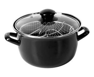 Friteuse Linda, zwart, diameter 20 cm