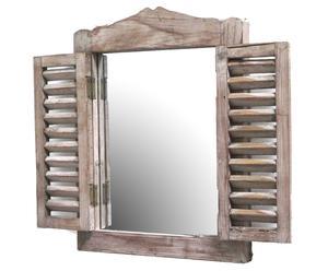 Spiegel Woody, naturel, 30 x 40 cm