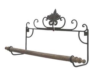 Handdoekrek Antwerp, bruin, L 73 cm