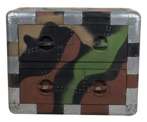 Commode aluminium, camouflage - L80