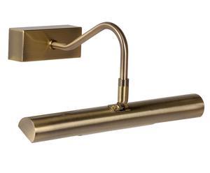 Wandlamp Dack, goud, L 28 cm