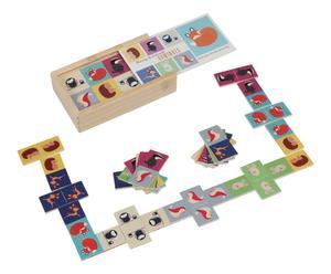 Dominospel Gaz, multicolour, L 17 cm