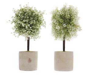 Set van 2 kunstplanten Joe, H 28 cm