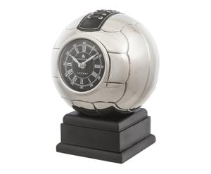 Tafelklok Football, zilver, H 26,5 cm
