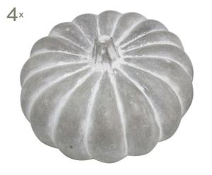 Set van 4 decoratieve pompoenen Cement, diameter 20 cm