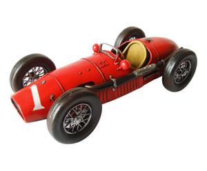 Decoratief object Auto Ferrari, rood, L 32 cm