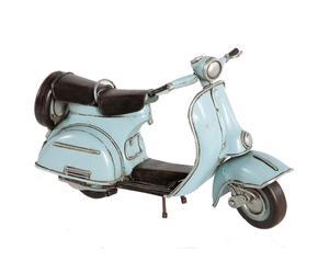 Decoratief object Vespa Scooter 2.0, lichtblauw, L 22 cm