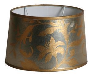 Lampenkap Flash, goud/zilver, L 31 cm