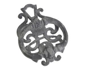 Deurklopper Ines, grijs, H 18 cm