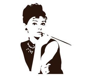 Wallsticker in vinile Audrey