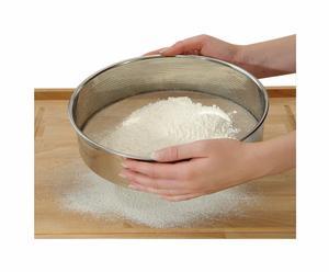 Zeef voor meel en suiker