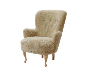 Fauteuil RIVESTITA FUR 60 x 85 x 60 cm - ABC COLLECTION