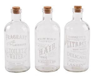 Flessen Bagnolet, 3 stuks