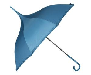 Automatische paraplu Pagoda, azuurblauw