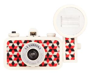 Lomo fotocamera La Sardina & Flash - Cubic
