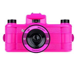 Lomo fotocamera Sprocket Rocket, roze